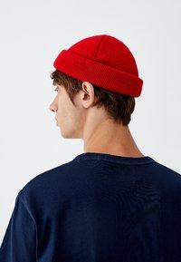 PULL&BEAR - MIT BRUSTTASCHE - T-shirt - bas - dark blue - 4