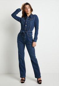 Pepe Jeans - DUA LIPA X PEPE JEANS - Jumpsuit - blue denim - 1