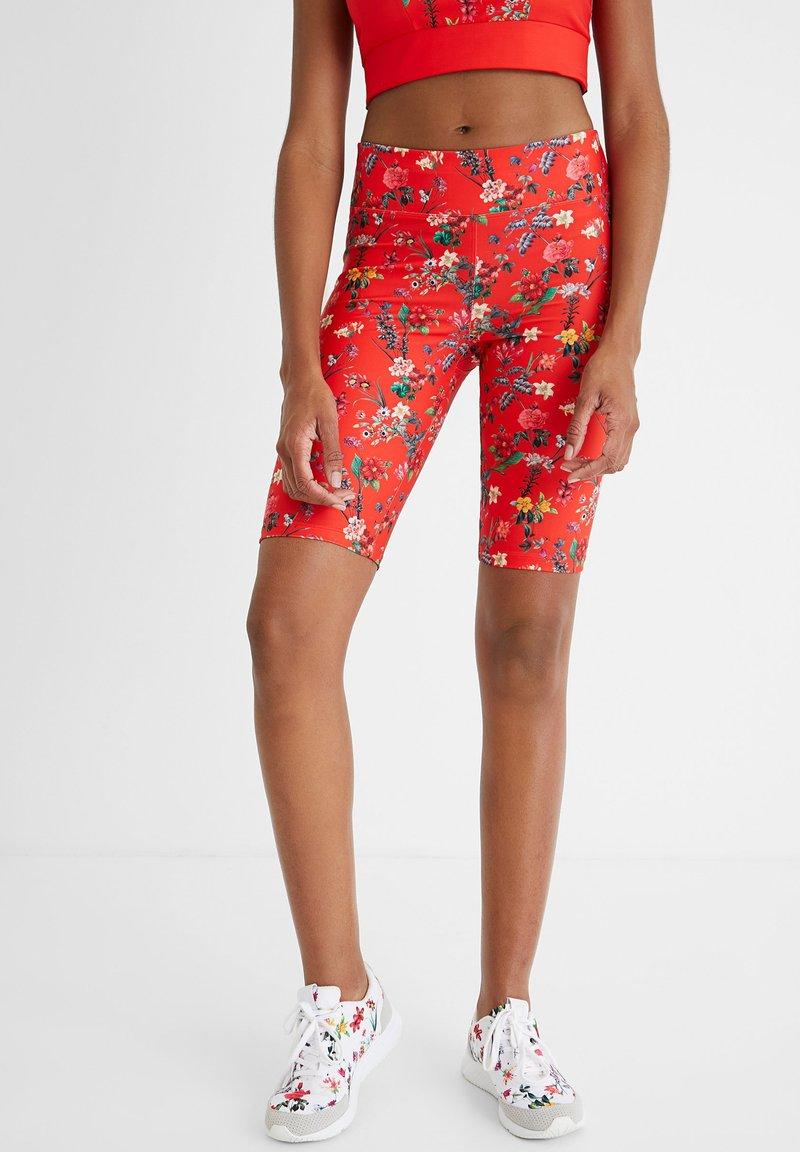 Desigual - Leggings - Trousers - red