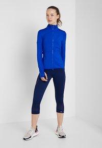 adidas by Stella McCartney - ESSENTIALS SPORT CLIMALITE 3/4 LEGGINGS - 3/4 sports trousers - dark blue - 1