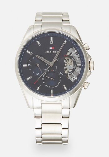 BAKER - Chronograph watch - silver-coloured/blue