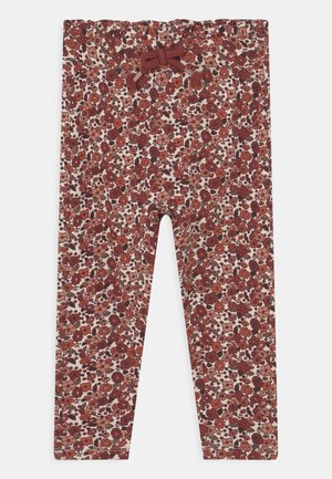 NMFOKKERI PANT - Leggings - whitecap gray