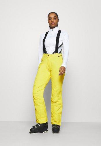 FIDELITY - Ski- & snowboardbukser - yellow