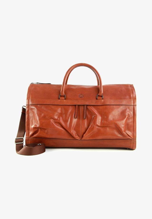 ORLANDO - Weekend bag - midbrown