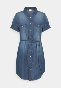 JDY - JDYBELLA LIFE DRESS - Dongerikjole - medium blue denim - 0