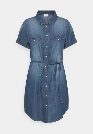 JDYBELLA LIFE DRESS - Denim dress - medium blue denim