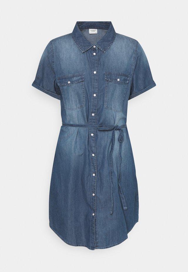JDYBELLA LIFE DRESS - Farkkumekko - medium blue denim