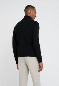 pure cashmere - TURTLENECK  - Pullover - black - 2