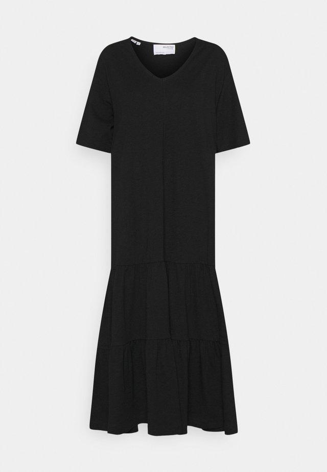 SLFREED MIDI DRESS - Maxi-jurk - black