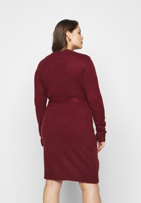 Anna Field Curvy - Jumper dress - dark red - 2