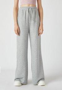 PULL&BEAR - Kalhoty - grey - 0