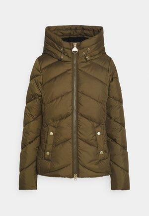 MOTEGI QUILT - Winter jacket - moto green