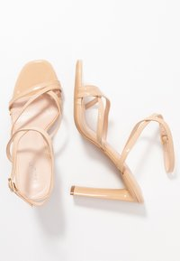 BEBO - PETAL - High heeled sandals - nude - 3