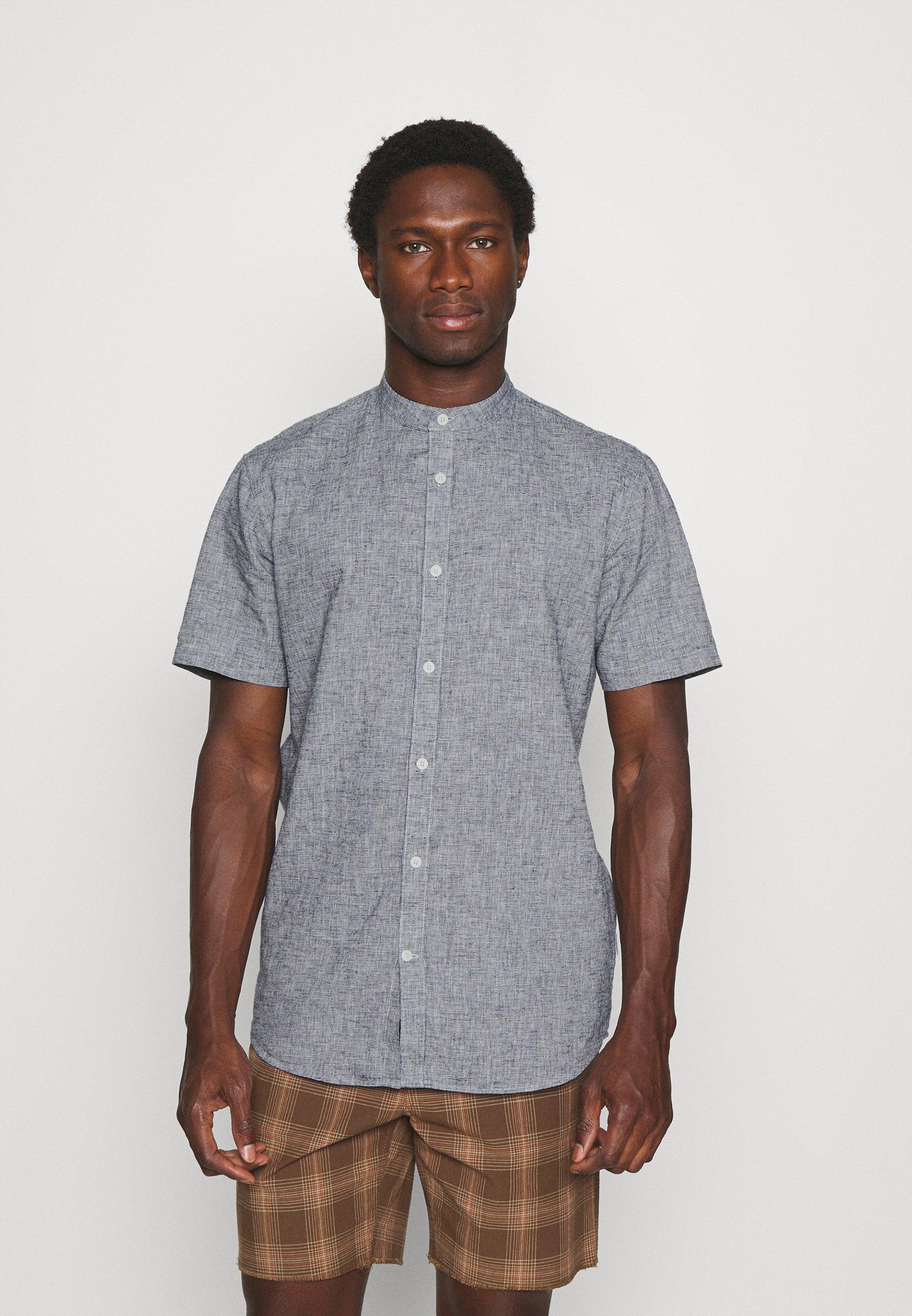 Men BLEND MANDARIN SHIRT - Shirt
