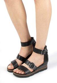 MJUS - Platform sandals - nero - 0