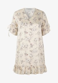 INAN ISIK - Day dress - beige - 0