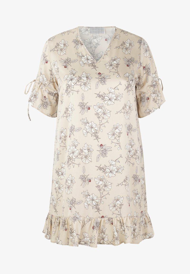 INAN ISIK - Day dress - beige