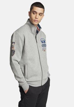SUNRISE - Sweater met rits - medium heather grey