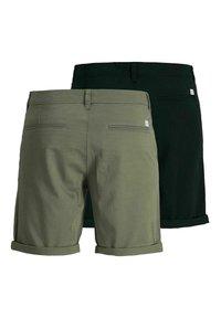 Jack & Jones - 2 PACK - Shorts - dusty olive - 7