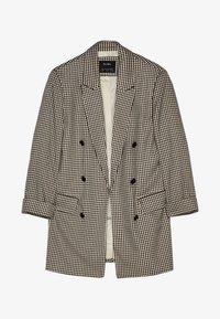 MIT HOCHGEROLLTEN ÄRMELN - Krátký kabát - beige