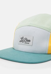 Lil'Boo - BLOCK UNISEX - Cap - dusty green/yellow/white/green - 3