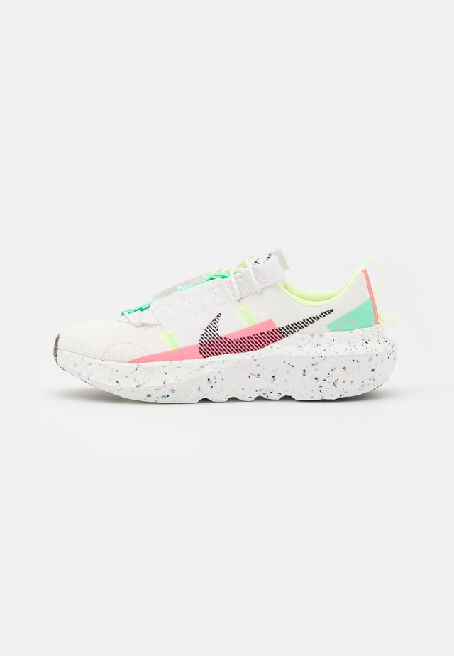 CRATER IMPACT - Sneakers basse - summit white/black/green glow/sunset pulse/barely volt