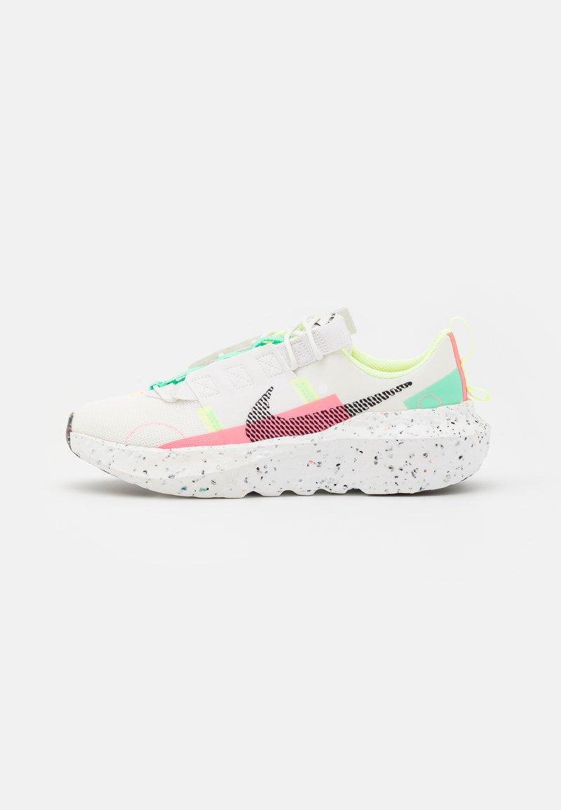 Nike Sportswear - CRATER IMPACT - Tenisky - summit white/black/green glow/sunset pulse/barely volt