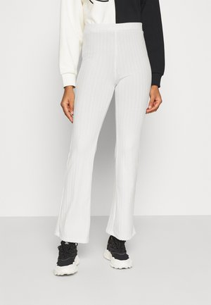 TORA TROUSERS  - Trousers - white light