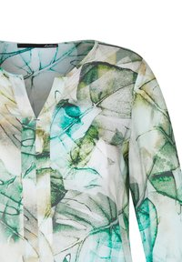 LeComte - MIT MUSTER UND TUNNELZUG - Blouse - olive, white, turquoise - 2