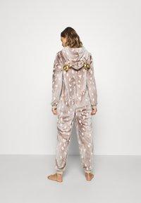 Loungeable - REINDEER LUXURY ONESIE ANTLER - Pyjama - brown - 2