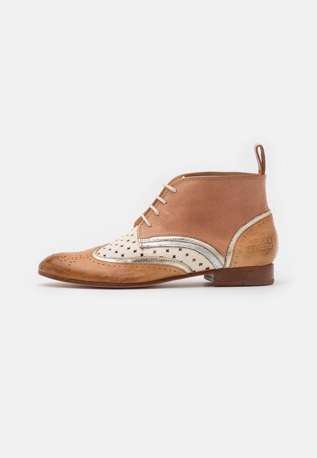 SALLY  - Ankle boot - imola/sand/talca/platina/white/make up/aluminium/rich tan/natural