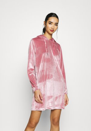 JDY HOODIE DRESS - Day dress - mesa rose