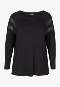 Active by Zizzi - Long sleeved top - black - 3