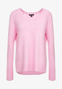 J.CREW - SUPERSOFT V-NECK - Jumper - wild petunia - 5