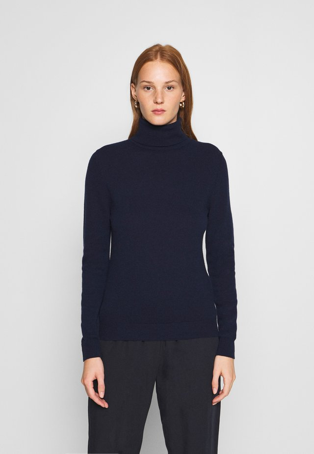 TURTLE NECK - Strikkegenser - navy
