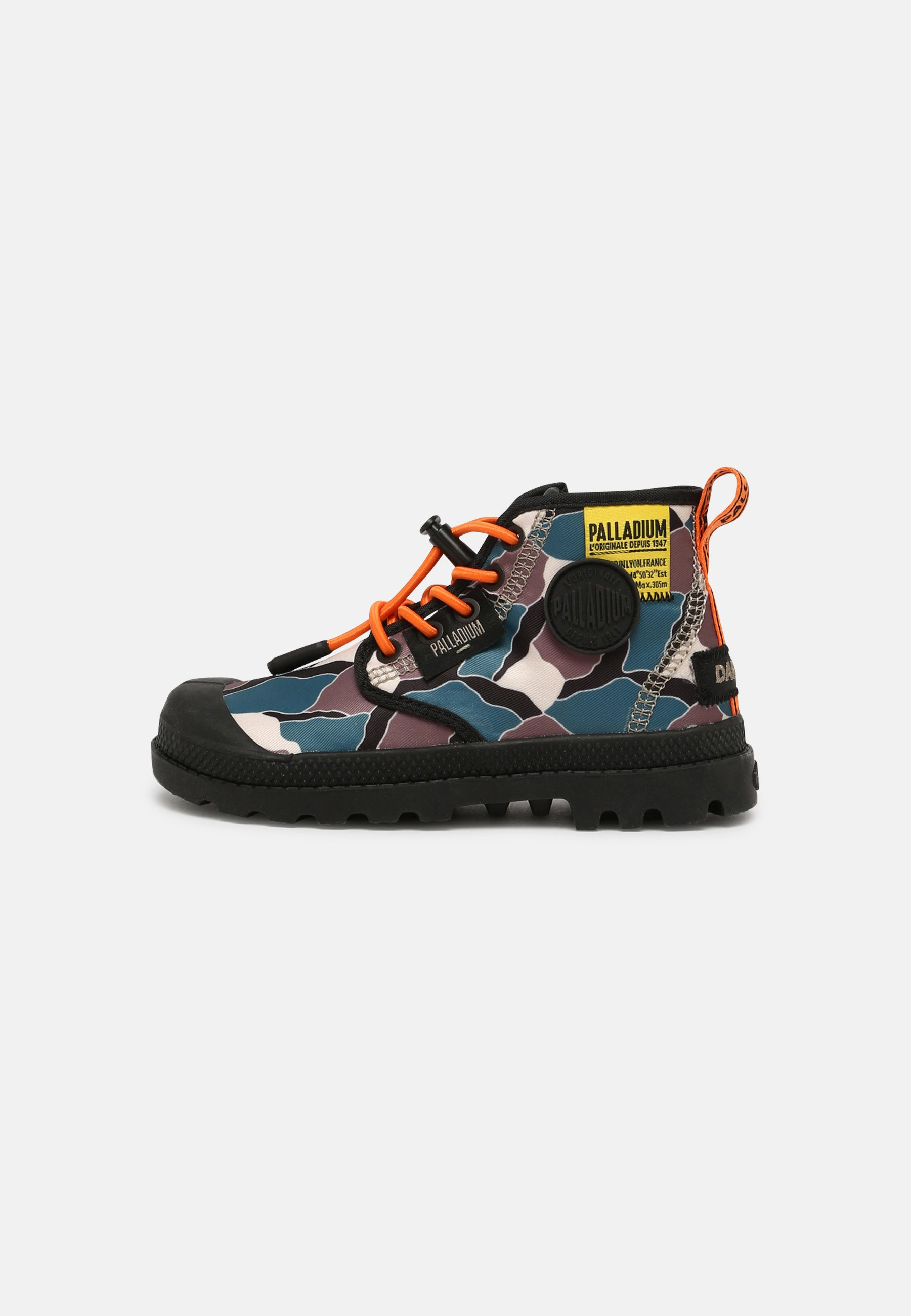 Kids PAMPA OVERLAB CAMO UNISEX - Lace-up ankle boots
