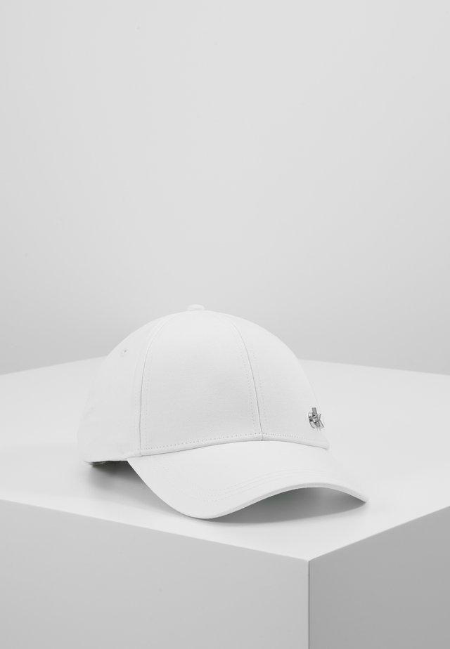 SIDE LOGO - Caps - white
