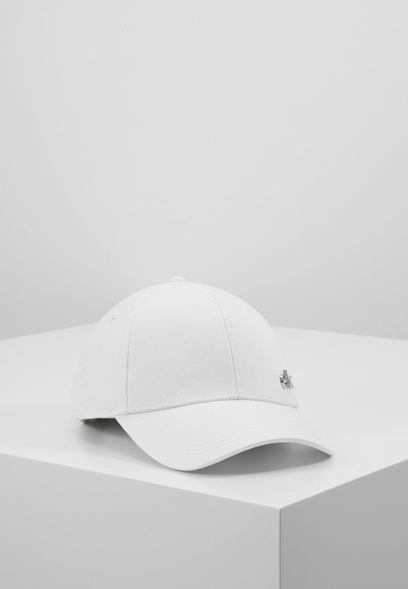 Calvin Klein - SIDE LOGO - Casquette - white