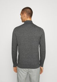 Burton Menswear London - FINE GAUGE ROLL  - Jumper - grey - 2