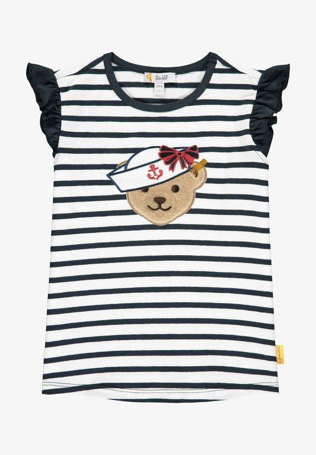 T-shirt print - steiff navy