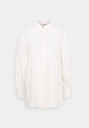 KAIYA - Button-down blouse - whispy white