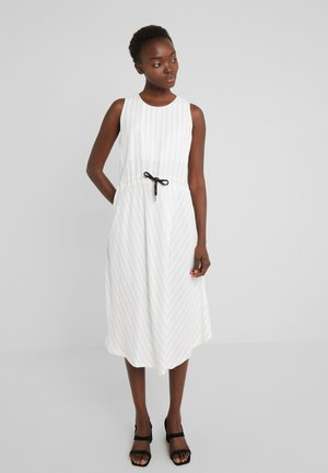 JAXON TWO TONE TWILL - Day dress - cloud dancer / black