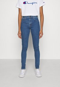 Levi's® - 720 HIRISE SUPER SKINNY - Jeansy Skinny Fit - eclipse mextra - 0