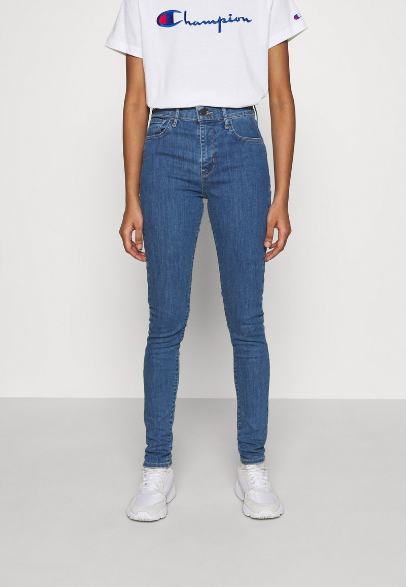 Levi's® - 720 HIRISE SUPER SKINNY - Jeansy Skinny Fit - eclipse mextra