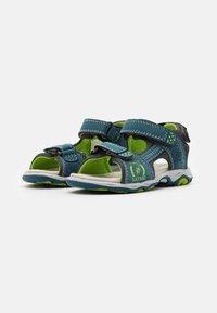 Friboo - LEATHER - Walking sandals - dark blue - 1
