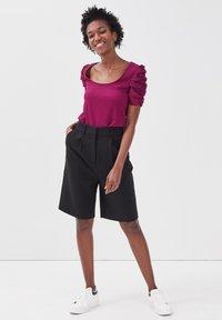 Cache Cache - T-shirt print - violet foncé - 1