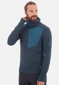 Mammut - ACONCAGUA - Soft shell jacket - wing teal - 0