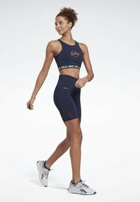 Reebok - LES MILLS® BEYOND THE SWEAT BIKE SHORTS - Shorts - blue - 1