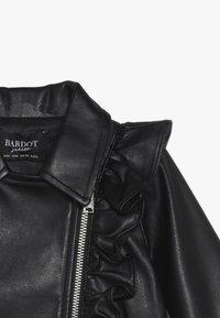 Bardot Junior - JACKET - Faux leather jacket - black - 4