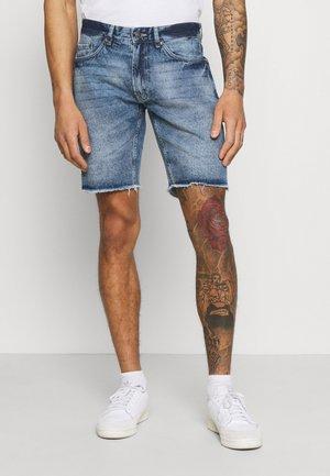 RROSAKA - Jeans Shorts - vintage denim
